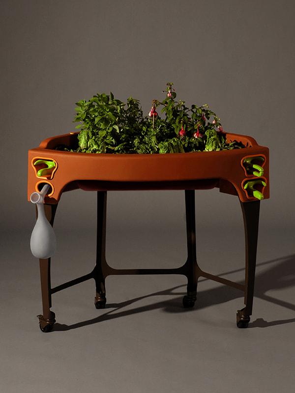 Garden Age maquette réalisée en 2009