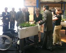 visite ministre Delaunay usine fabrication verdurable GMI 1