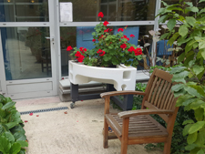 jardin ergonomique hôpital bretonneau hôpital de jour