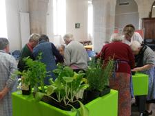 atelier de jardinage EHPAD St Joseph d'Aubenas