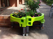 Un jardin ergonomique créé à l'EHPAD Jules Parent de CHD Stell