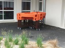 jardinières ergonomiques installées EHPAD Olivier Darblade Aire sur lAdour