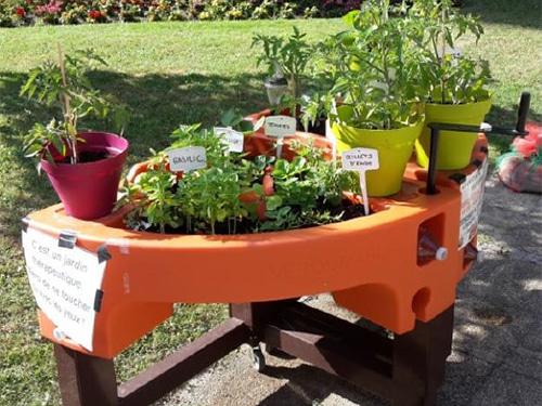 Deux groupes jardins ont un grand succès à l'Institution Nationale des Invalides (75)