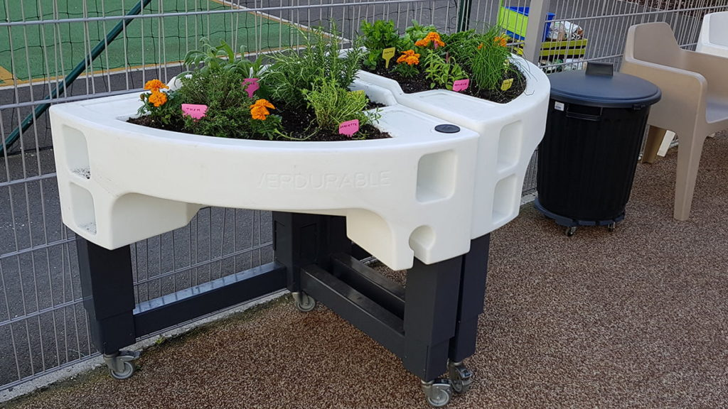 jardin thérapeutique pour les enfants handicapés de l'Usep