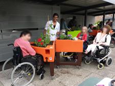 Jardinothérapie dans la MAS St Jean de Malte de Paris