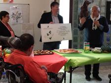 Fondation Truffaut soutient le jardin thérapeutique de la MAS St Jean de Malte 2015