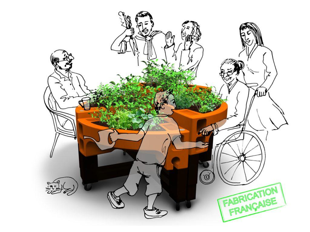 jardinière thérapeutique