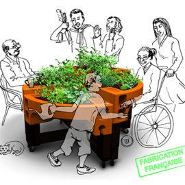 jardinières adaptées verdurable