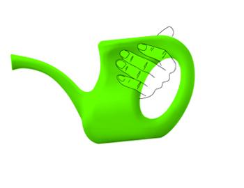 arrosoir ergonomique offre une préhension facile