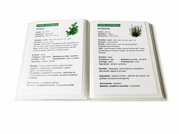 carnet de plantes Verdurable