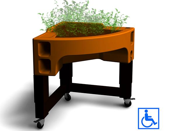 jardinière ergonomique adaptée hortense confort verdurable