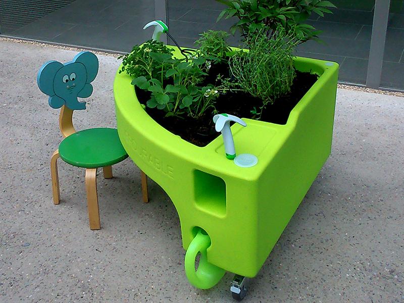 jardins pédagogique mobile modulable