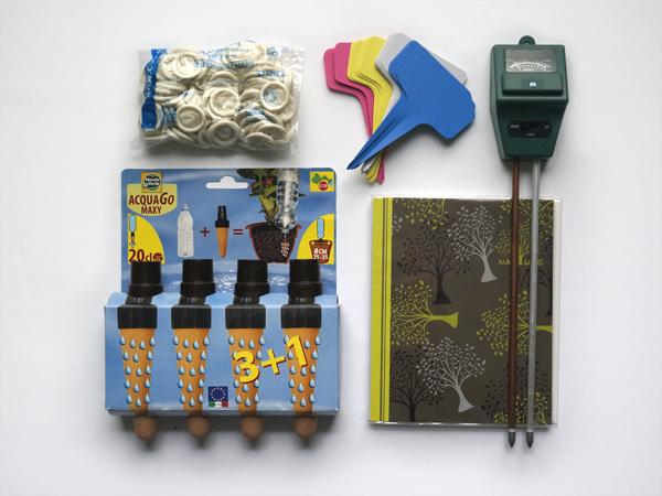 kit accessoires jardinage verdurable
