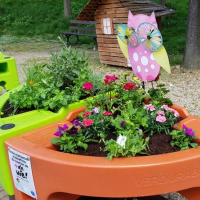 jardin floral hôpital Broca 2018
