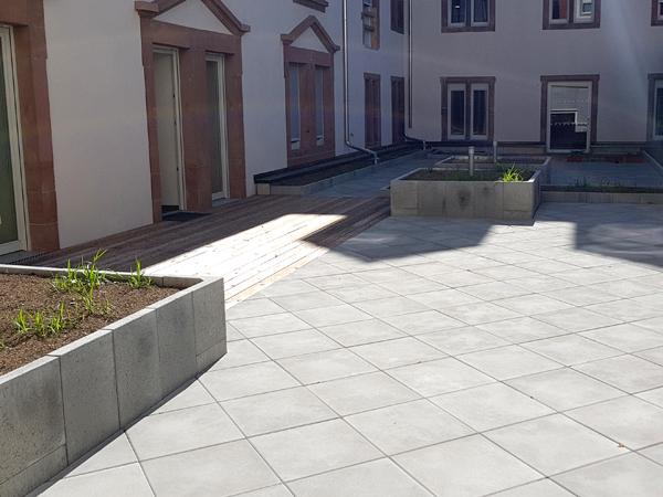 jardin thérapeutique résidence ND St Joseph Niederbronn 1