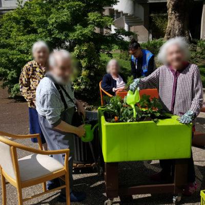 jardinage printemps hopital la collégiale 2018 2