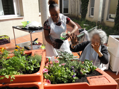 jardinage résidence UCC USLD ap-hp