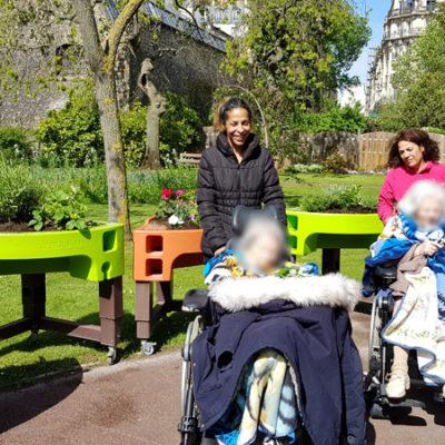 promenade au jardin des senteurs hôpital la Rochefoucauld 2018