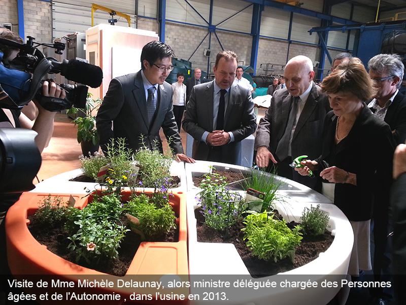 fabrication française visite Mme Michèle Delaunay en juin 2013