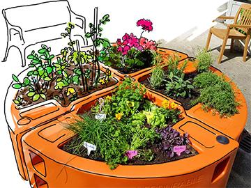 conception réalisation jardin adapté