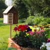 gîte à insectes au jardin adapté