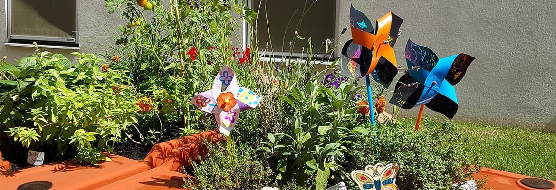 activités autour du jardin sensoriel