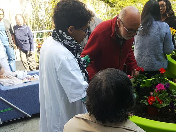 Jardinage à l'hôpital Chardon-Lagache 2019