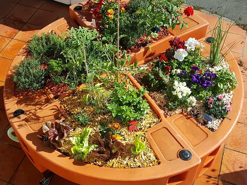 couverture de copeaux jardin d'été Verdurable