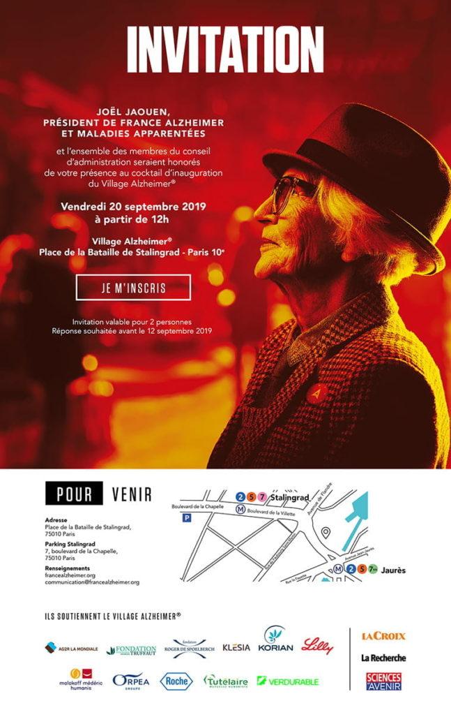 Village Alzheimer 2019 - France Alzheimer et maladies apparentées