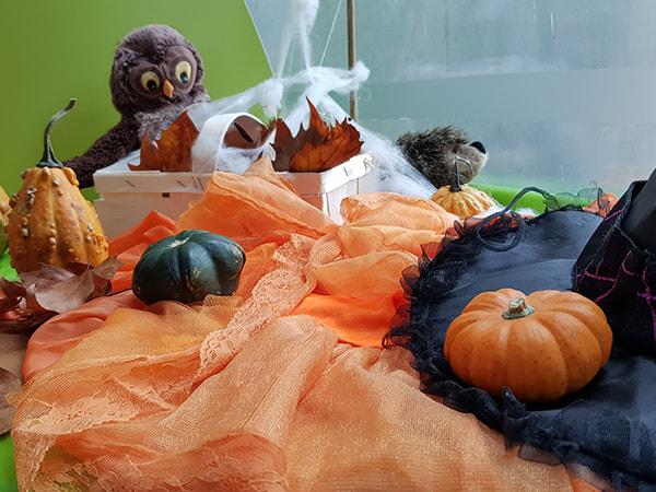 décorations d'automne en intérieur
