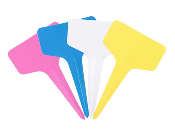 étiquette à planter 4 couleurs