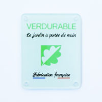 plaque de don exemple Verdurable