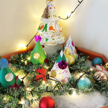 À Charles-Foix (AP-HP), les résidents préparent les jardinières pour Noël