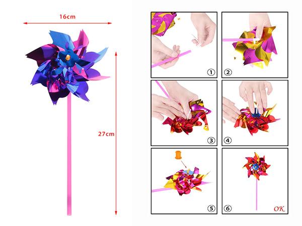 moulin à vent dimensions et montage