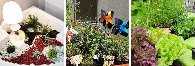 jardins thématiques réalisables dans les jardinières de verdurable
