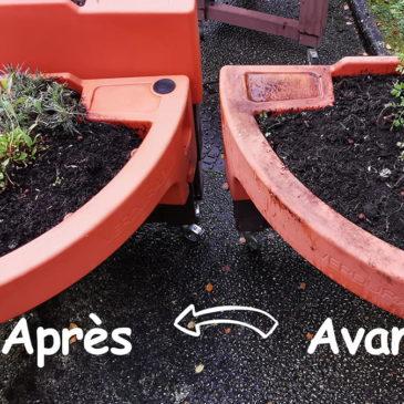 Pour le printemps, nettoyez vos jardinières