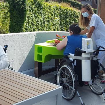 A l'hôpital Les Bateliers, le jardinage thérapeutique sort les patients de l'isolement