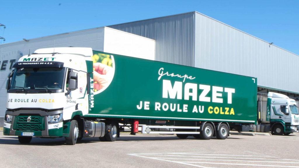 livraison par camion écoresponsable