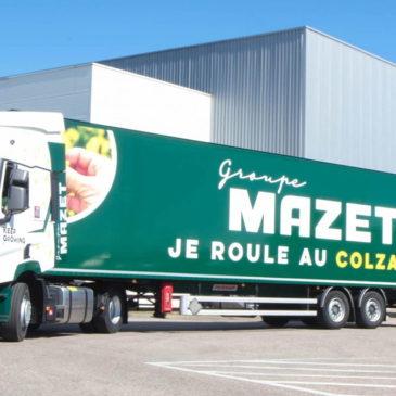 Vos jardinières livrées par camion écoresponsable