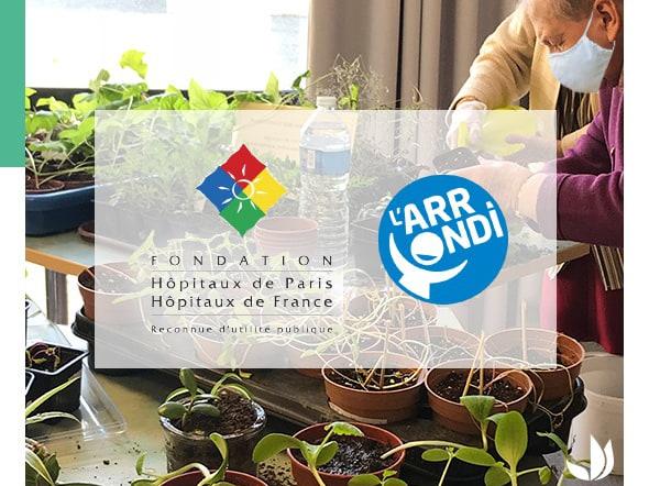 Fondation Truffaut et la Fondation des Hôpitaux soutiennent jardins dans les hôpitaux